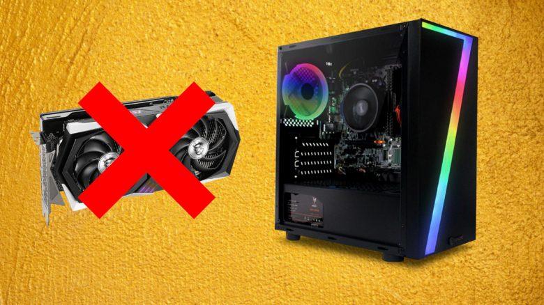 Ein Hersteller verkauft jetzt Gaming-PCs ohne Grafikkarten