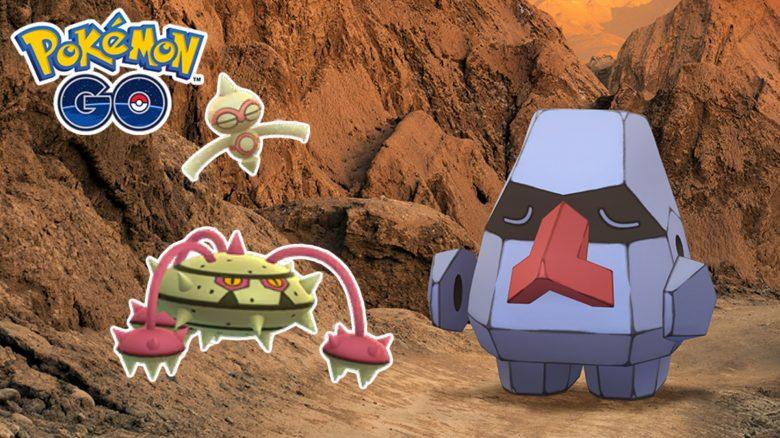 Suche nach Legenden Pokemon GO