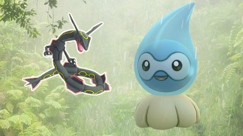 Pokémon GO startet Wetterwoche mit neuem Shiny und einer dicken Überraschung