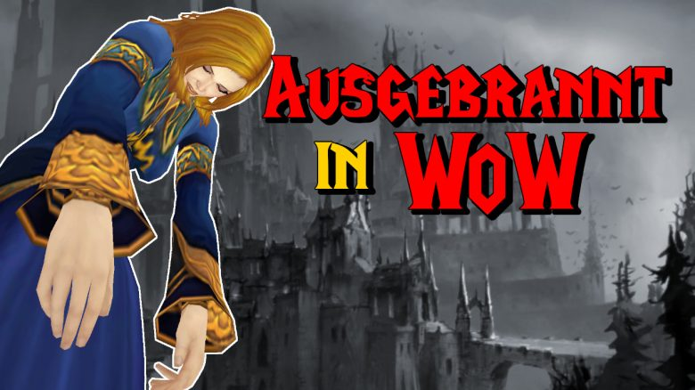 WoW Ausgebrannt in WoW Human Female Mage dead titel title 1280x720