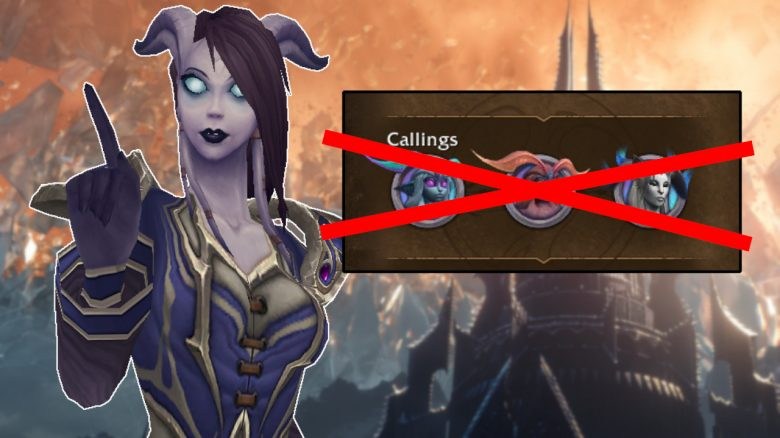 WoW Callings crossed Draenei no titel titel 1280x720
