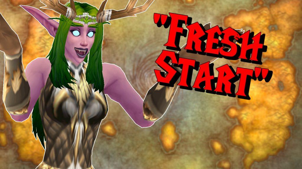 WoW Classic Fresh Start titel title 1280x720