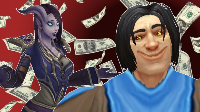 WoW Game master Stretched face dollars titel title 1280x720
