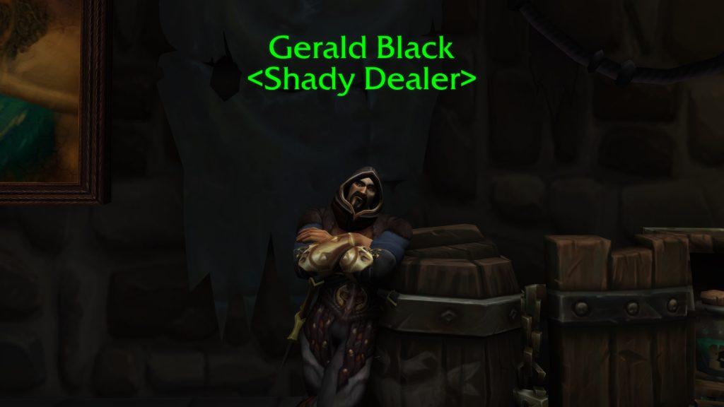 WoW Gerald Black NPC