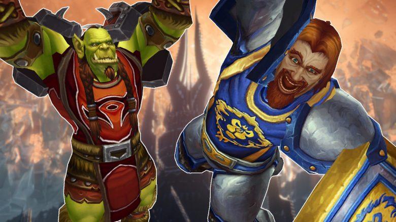 WoW Orc Human warrior cheer titel title 1280x720
