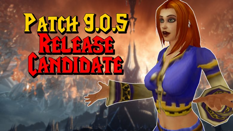 WoW Patch 905 Release Candidate titel title 1280x720