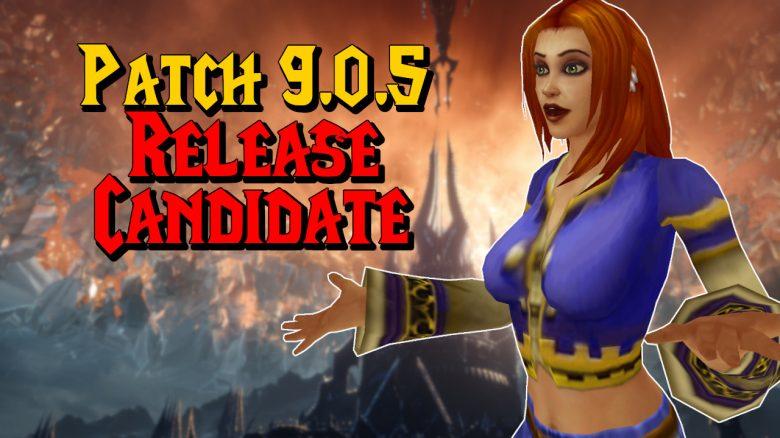 """WoW: Patch 9.0.5 hat einen """"Release Candidate"""" – Wann geht's los?"""