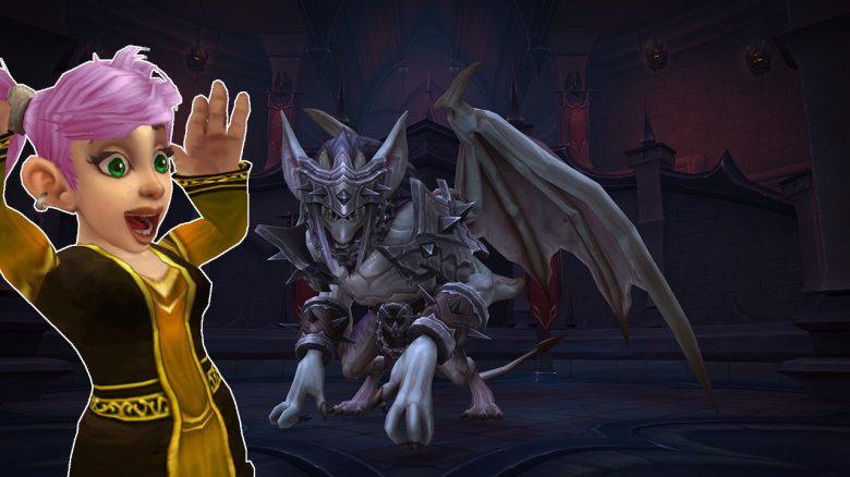 3 Spieler töten aktuellen Boss aus Schloss Nathria, brauchen keinen Heiler