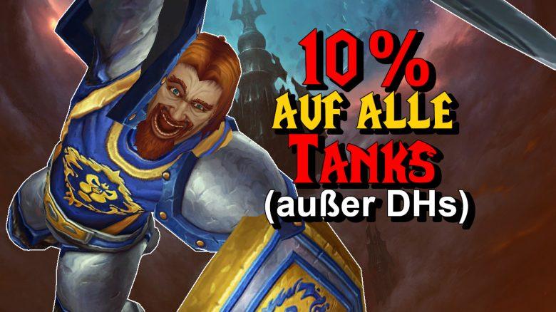 WoW: Alle Tanks werden deutlich stärker, nur Dämonenjäger nicht