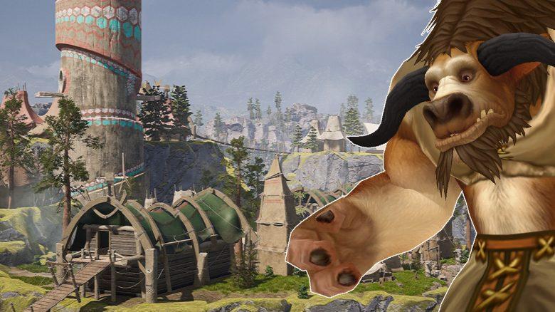 WoW: Hauptstadt der Tauren sieht in Unreal Engine echter aus als die Realität