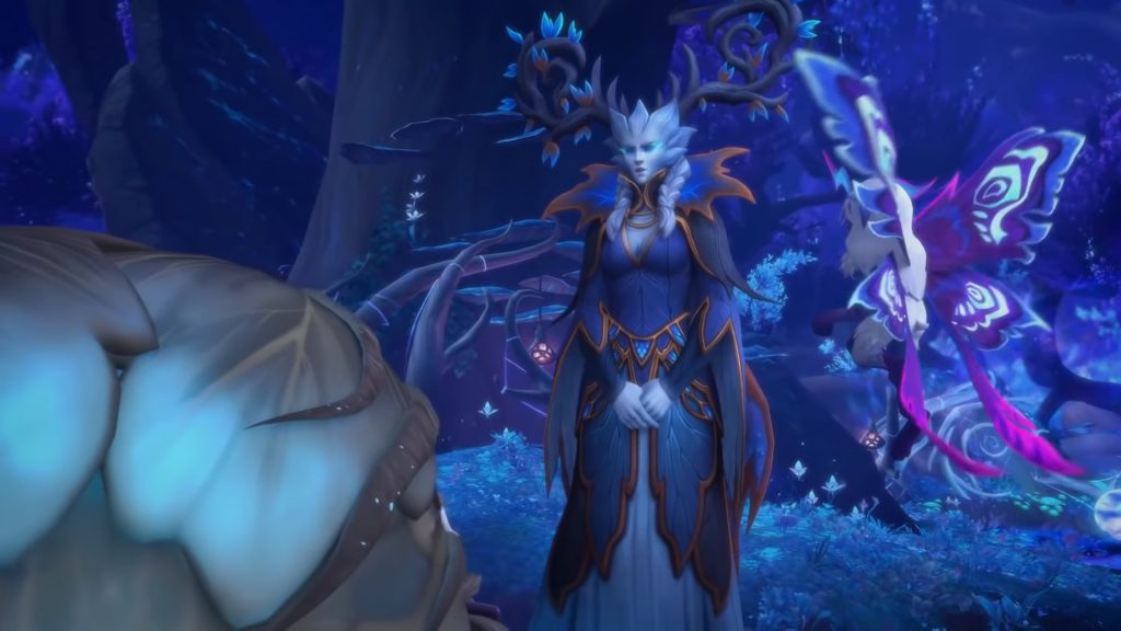 WoW Winter Queen Ysera of my sister
