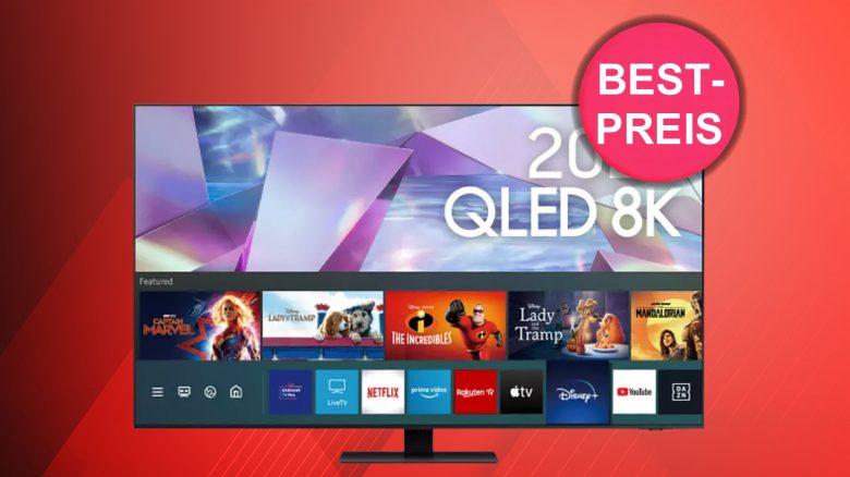 Amazon Oster-Angebote: Samsung 8K QLED-TV zum Bestpreis und mehr