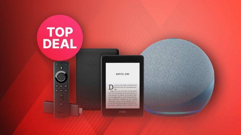 Amazon Geräte im Oster-Angebot: Echo, Kindle & Fire TV günstiger