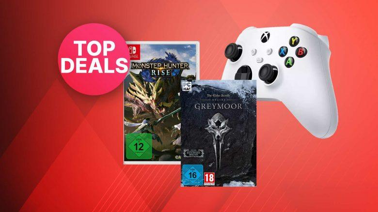 Amazon Oster-Angebote: Xbox Series-Controller & Spiele stark reduziert