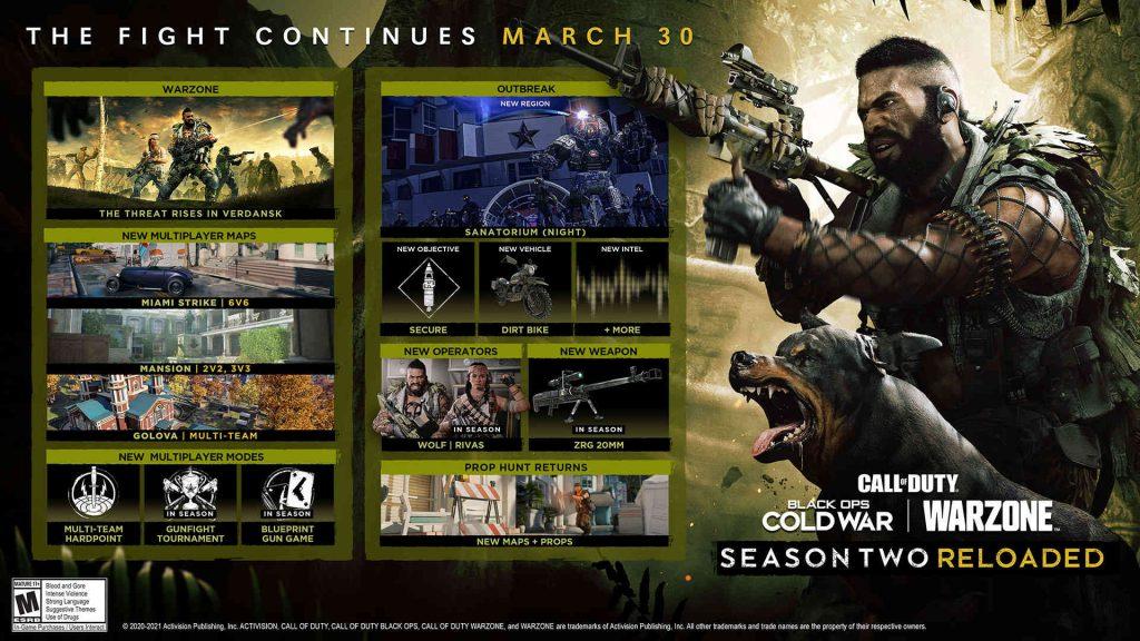 cod cold war warzone mid season update roadmap