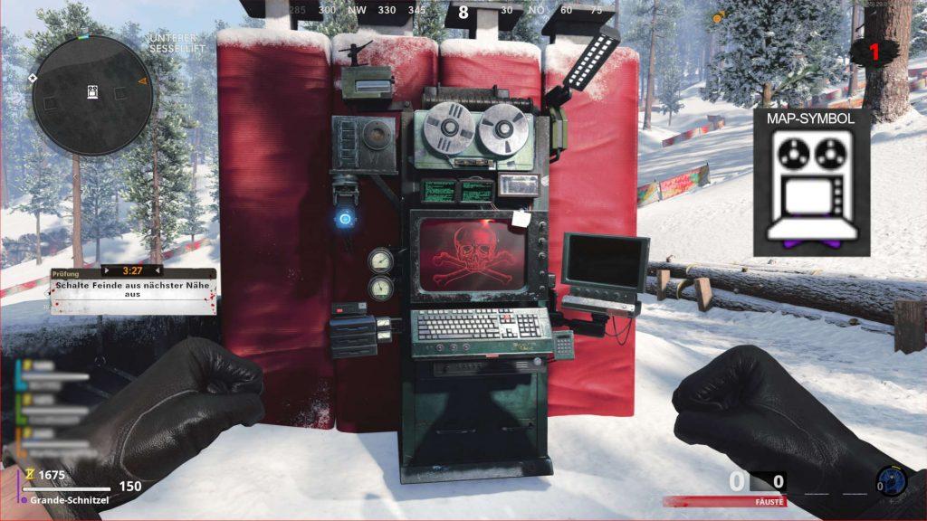 cod cold war zombies outbreak herausforderungsmaschine