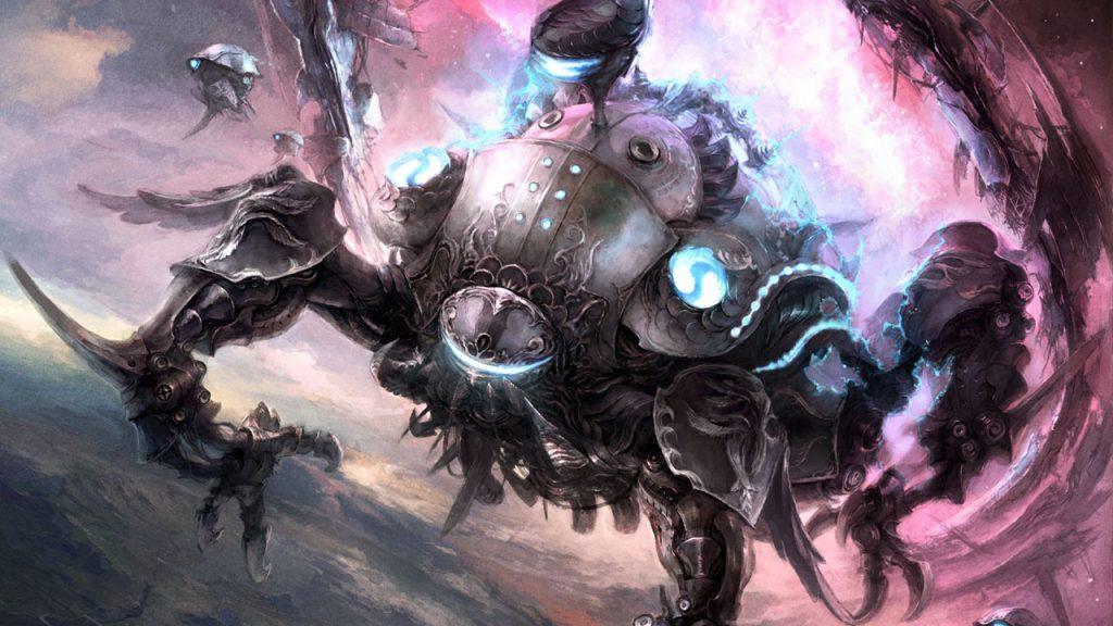 ffxiv omega raid artwork