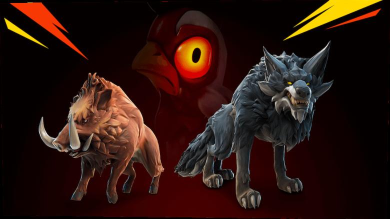 Fortnite Season 6: Alle 4 neuen wilden Tiere auf der Map