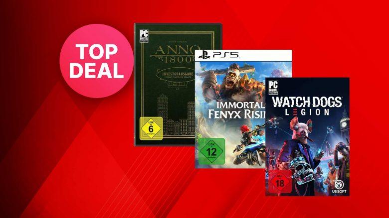MediaMarkt Angebot: Ubisoft-Spiele für PC & Konsolen stark reduziert