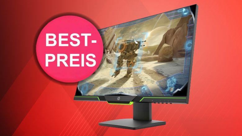 Guter Gaming-Monitor mit 144 Hz von HP zum Bestpreis bei OTTO
