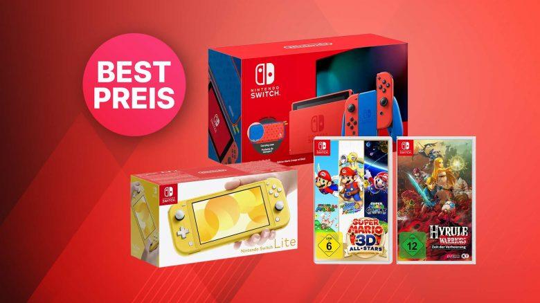 Saturn Angebot: Nintendo Switch Limited Edition & Spiele zum Bestpreis