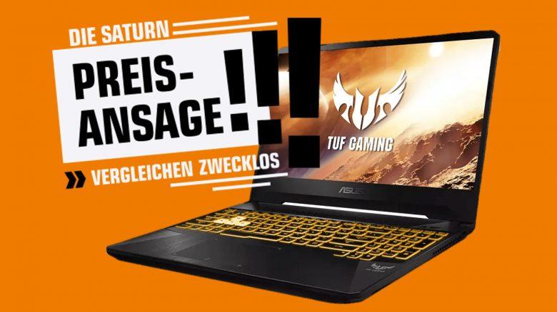 Asus Gaming-Laptop mit GeForce RTX 2060 reduziert & mehr bei Saturn