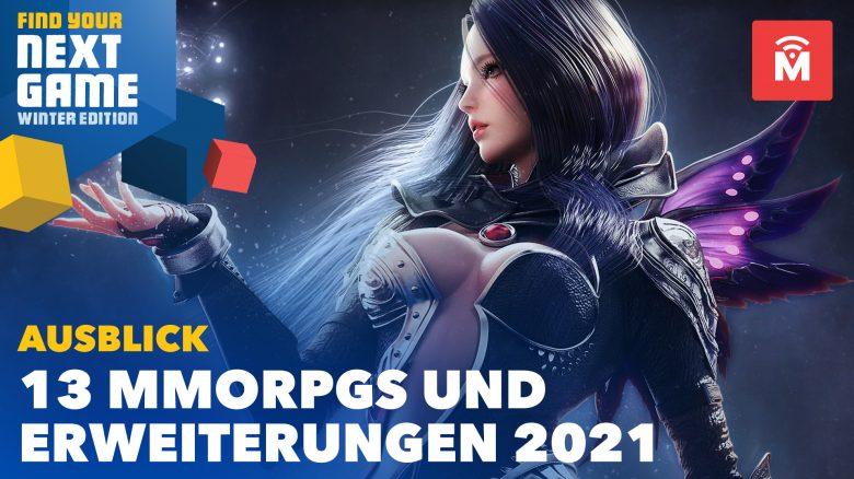13 MMORPGs 2021