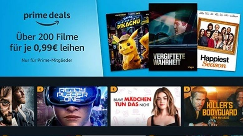 Oster-Angebot: Über 200 Filme für je nur 99 Cent leihen mit Amazon Prime