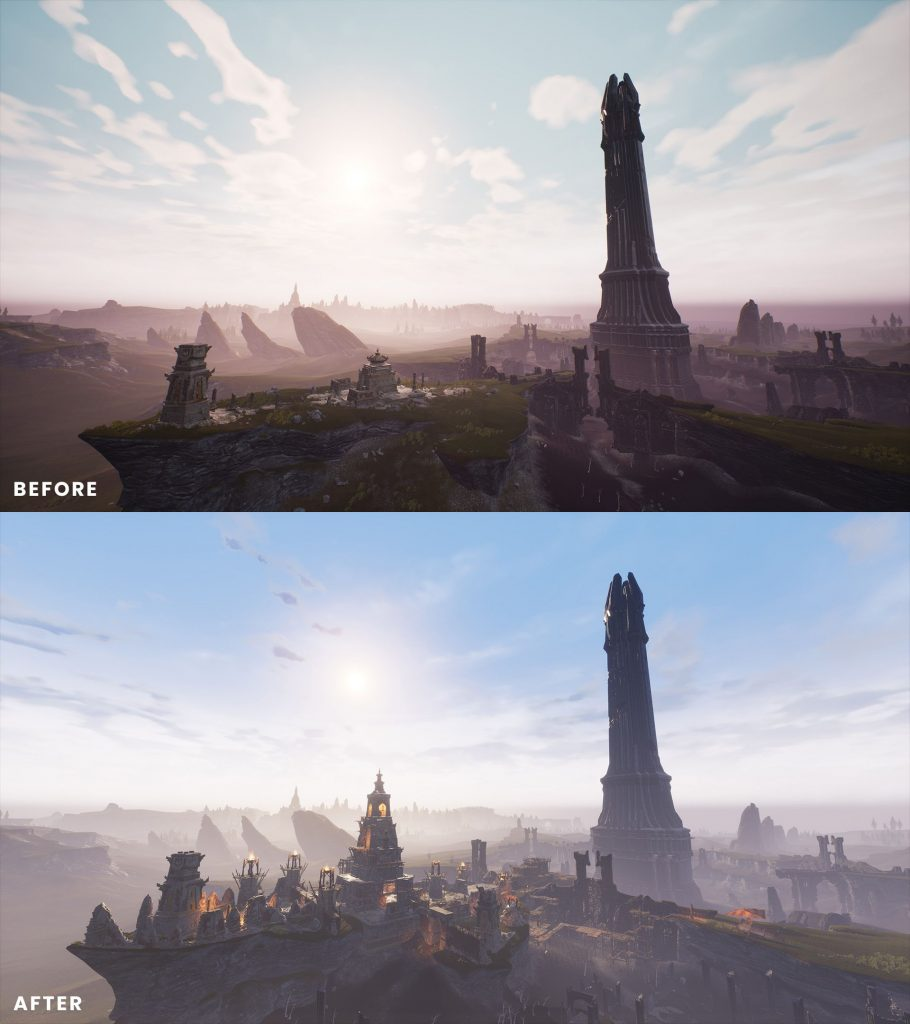 Conan Exiles Isle of Siptah Before and After 1