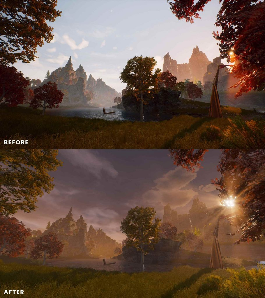 Conan Exiles Isle of Siptah Before and After 3