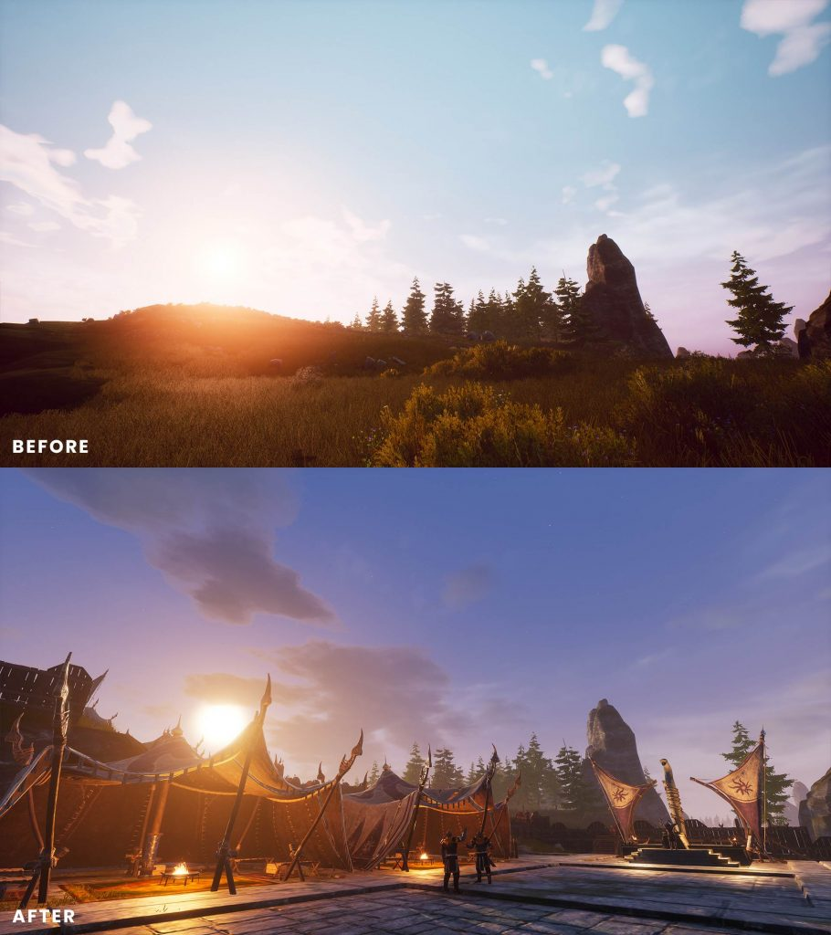 Conan Exiles Isle of Siptah Before and After 4
