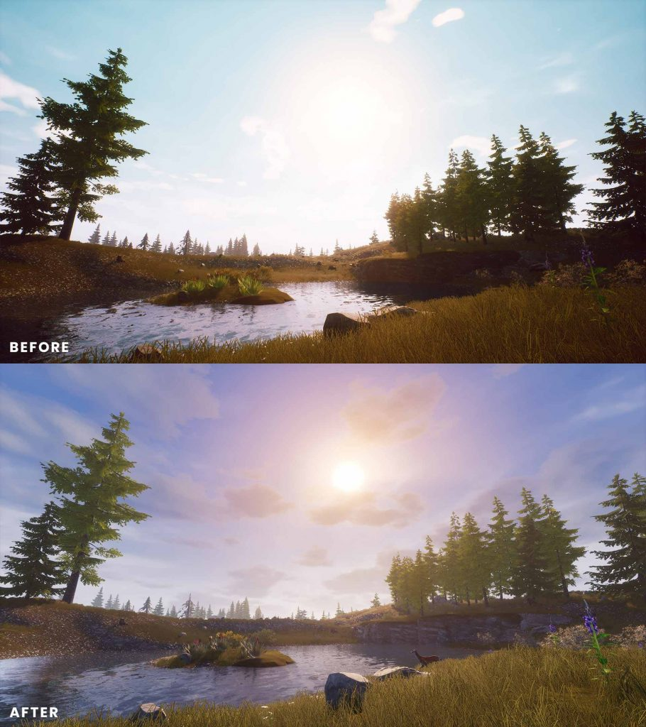 Conan Exiles Isle of Siptah Before and After 5