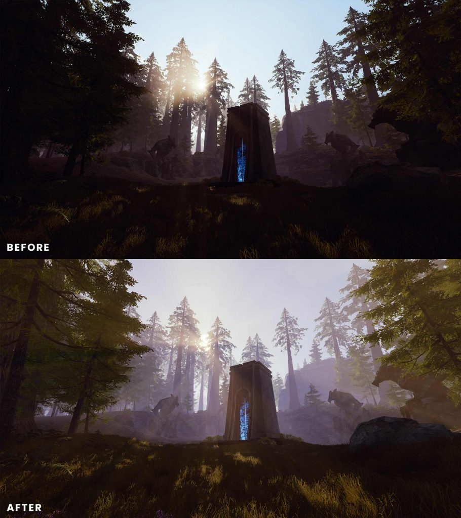 Conan Exiles Isle of Siptah Before and After 6