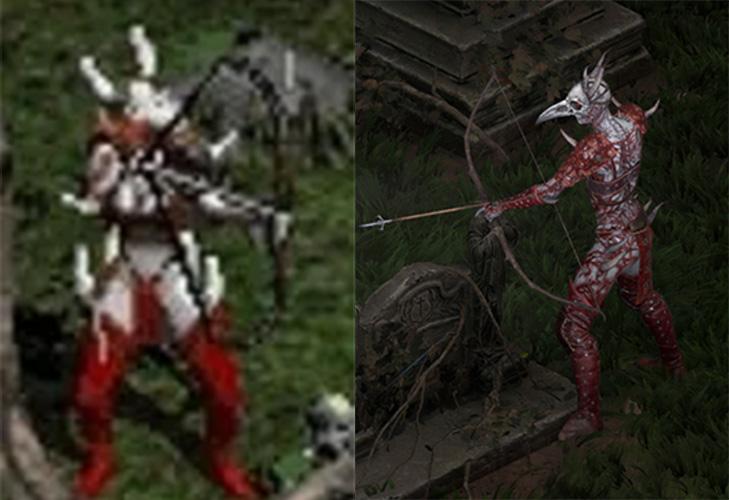 Diablo 2 Blutrabe Vergleich