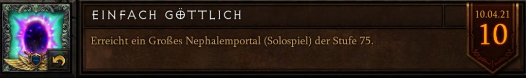 Diablo 3 einfach göttlich S23
