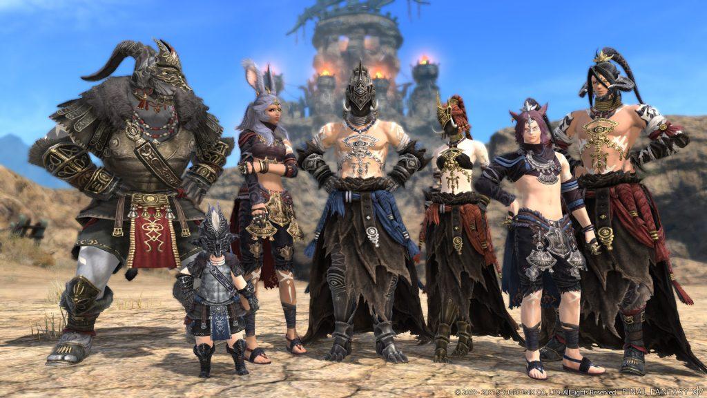 ffxiv patch 5.5 dungeon gear