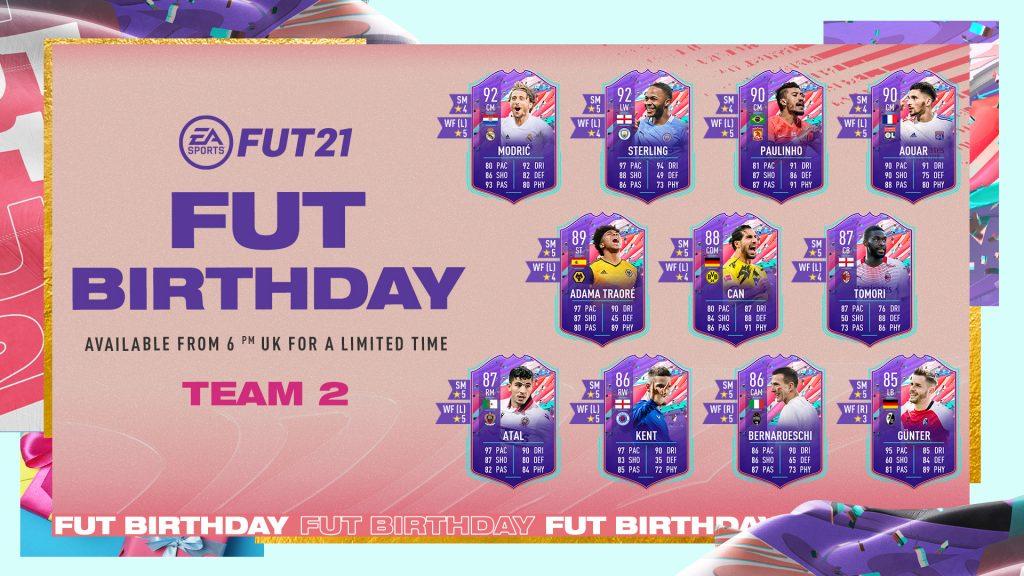 FUT Birthday Team 2
