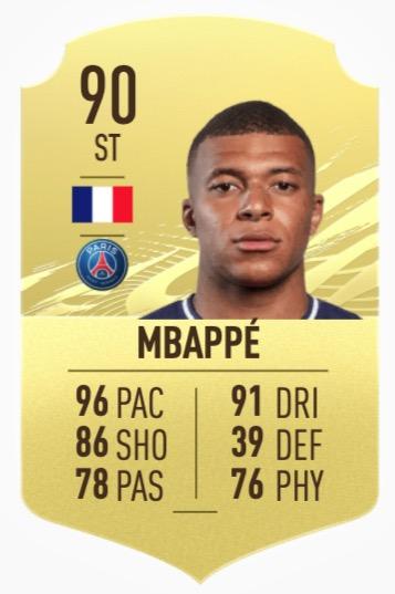 FIFA 21 Mbappe