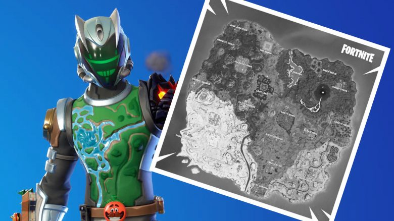 Fortnite Map Skin