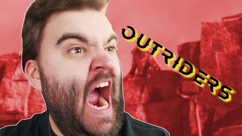 Wegen Outriders habe ich zum ersten Mal seit Jahren meinen Monitor angeschrien