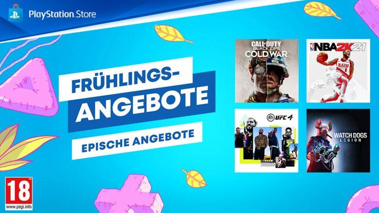 PS Store: Frühlings-Sale wird noch größer – zusätzliche PS4-Spiele im Angebot