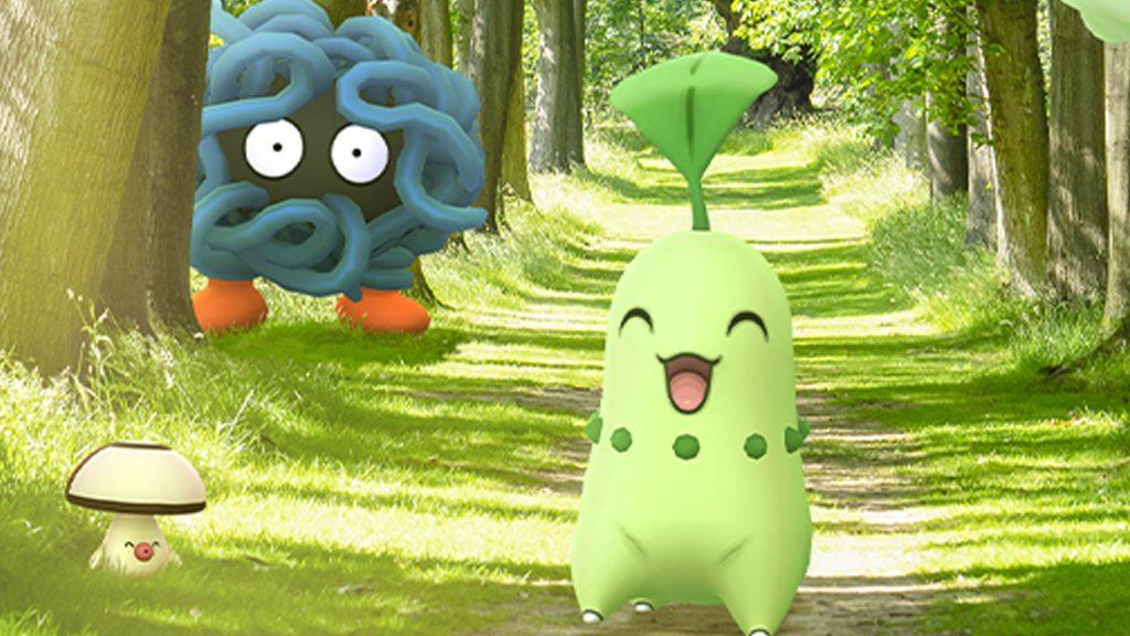 Pokémon GO Freundschaftstag Endivie Titel