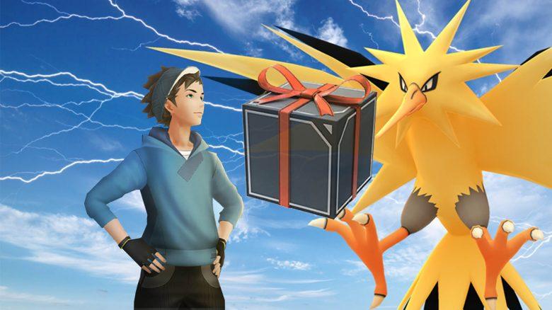 Pokémon GO Zapdos Box Titel