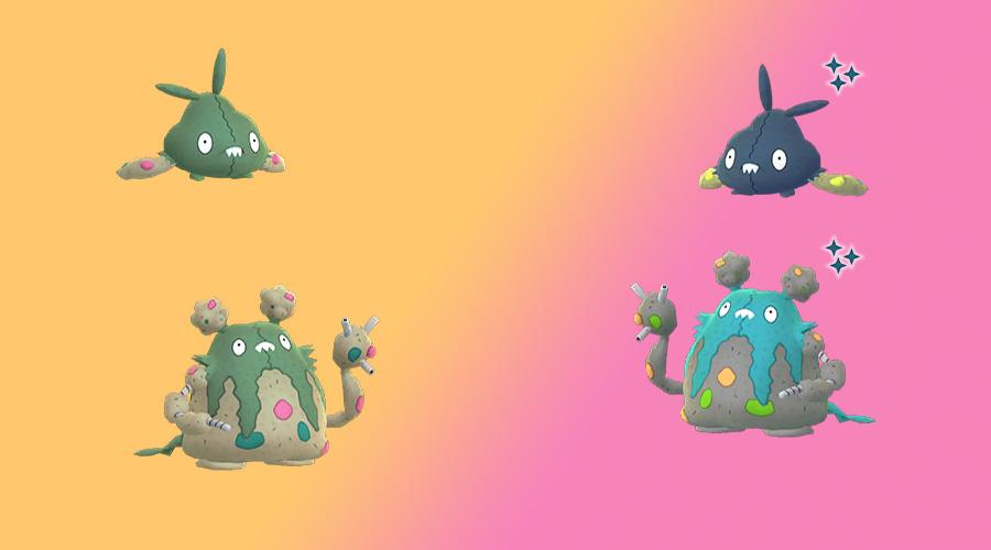 Pokémon GO shiny unratütox