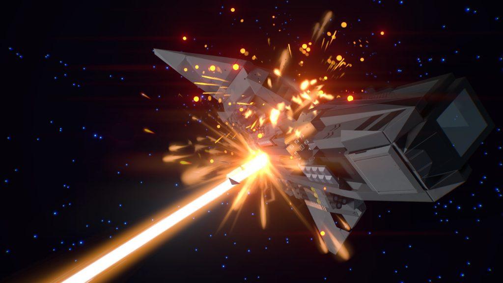 Starship EVO Explosion