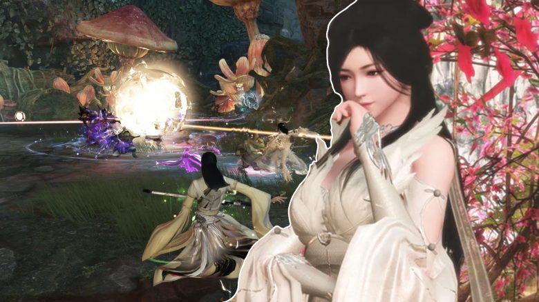 Neues MMORPG Swords of Legends zeigt Barden, der mit Musik kämpft und heilt