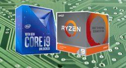 Titelbild Intel und AMD Ryzen