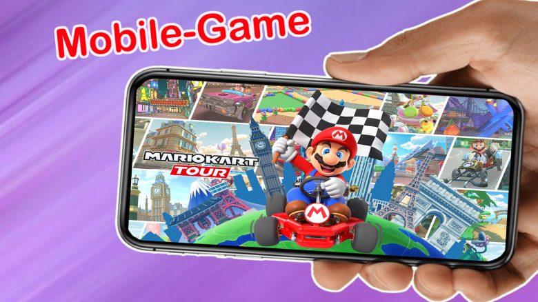 Wusstet ihr, dass ihr das beliebte Mario Kart auch auf eurem Handy spielen könnt?