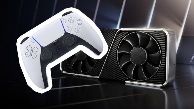 Titelbild Nvidia und DualSense-Controller