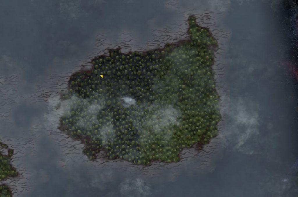 Valheim Nebellande auf der Map